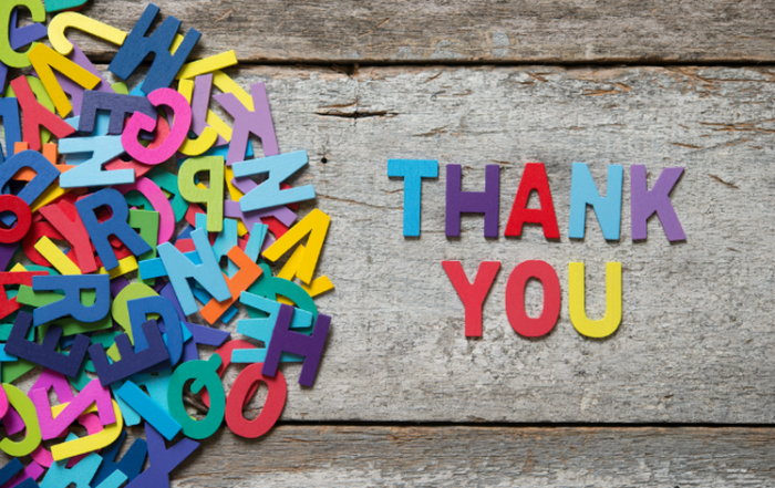 Thank You – Individual and Business Contributions